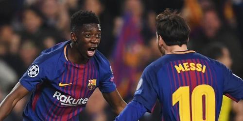(RUMOR) Ousmane Dembélé en el radar del Liverpool