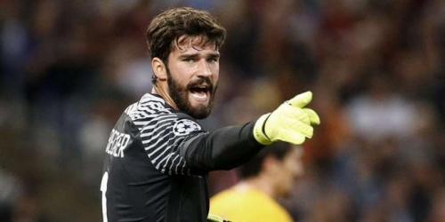 (RUMOR) Roma dejará ir a Allison al Liverpool siempre y cuando pague 90 millones de euros