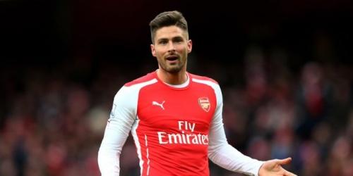 (RUMOR) Salida de Olivier Giroud del Arsenal