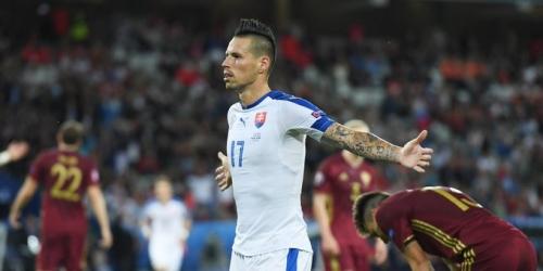 (VIDEO) Eurocopa, Eslovaquía sufrió en la victoria por 2-1 sobre Rusia
