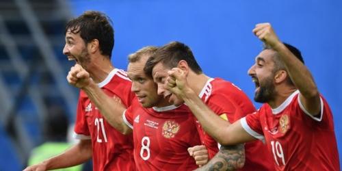 (VIDEO) Rusia le ganó 2-0 a Nueva Zelanda en el inicio de la Copa Confederaciones