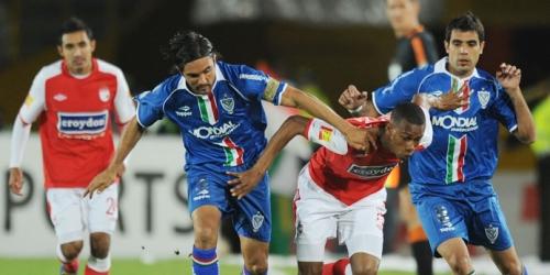 Santa Fe y Vélez empataron en la ida de cuartos de final