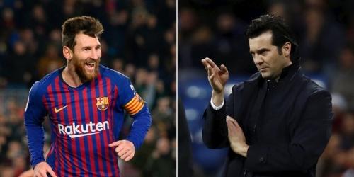 Santiago Solari, un gran admirador de Messi