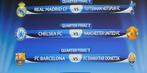 Shakhtar y Tottenham, rivales de Barça y Madrid