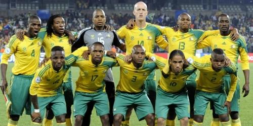 Sudáfrica golea 5-0 a Guatemala en partido premundialista