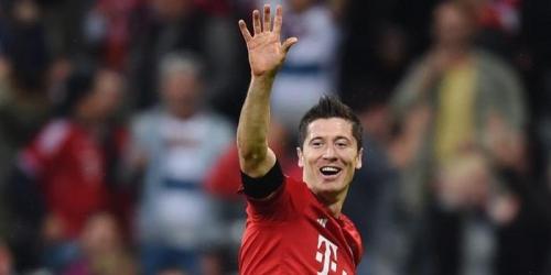 Super Lewandowski, 5 goles en 9 minutos (VIDEO)