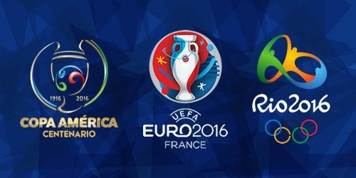 ¡Copa América, Eurocopa y Juegos Olímpicos! Sigue toda la 'trilogía' con futbolya.com
