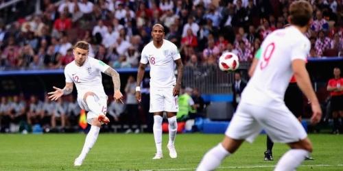 Trippier anota el segundo gol más rápido en una semifinal mundialista