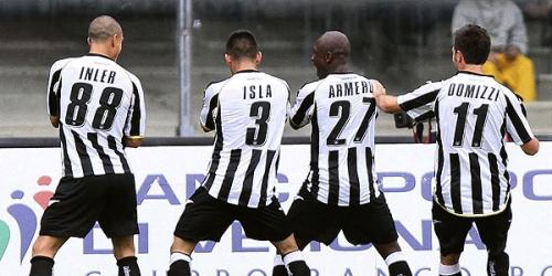 Udinese es el nuevo líder absoluto de la Serie A