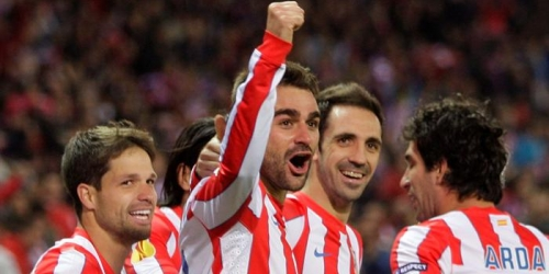 Un gran Atlético acelera hacia la final de Bucarest