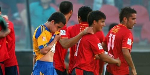 Unión Española venció a Tigres por la mínima