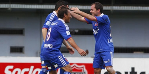 Universidad de Chile sigue imparable en el Clausura