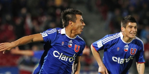 Universidad de Chile venció a Nacional en la Sudamericana