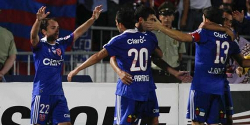 Universidad de Chile y Vélez golearon en la Libertadores