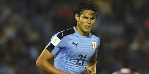 Uruguay, Cavani podría ser sancionado con tres jornadas