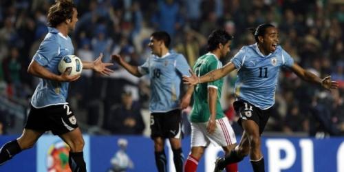 Uruguay elimina a México y accede a cuartos de final