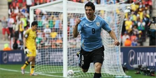 Uruguay gana 2-1 a Corea del Sur y pasa a cuartos