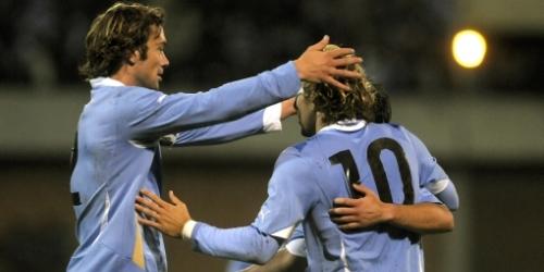 Uruguay goleó a Estonia en su último amistoso