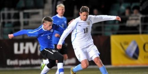 Uruguay pierde 2-0 en partido amistoso con Estonia