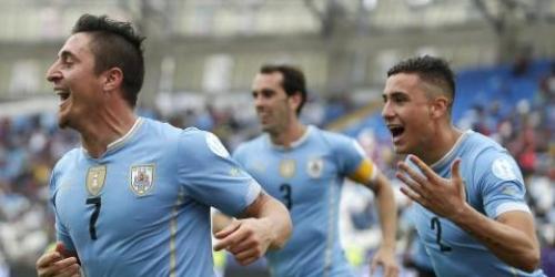 Uruguay sufrió en su victoria contra Jamaica (1-0)