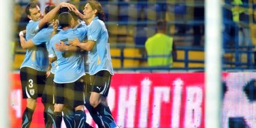 Uruguay venció a Ucrania en partido amistoso