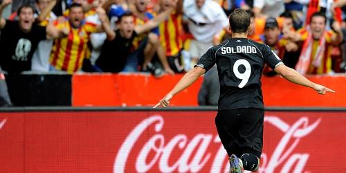 Valencia es el inesperado líder de la Liga BBVA
