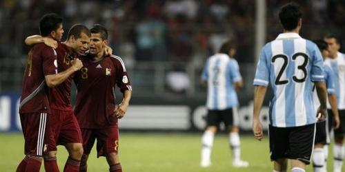 Venezuela dio la sorpresa y derrotó a Argentina