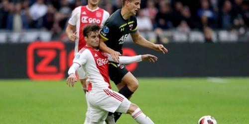 (VIDEO) Ajax goleó 5 a 0 al AZ Alkmaar y no quiere alejarse del PSV