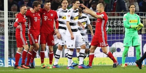 (RESUMEN) Alemania, con gol de Müller el Bayern se acerca al título