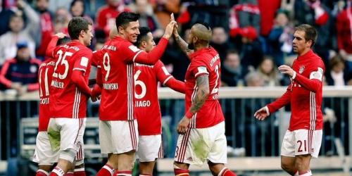 (VIDEO) Alemania, el Bayern aplastó al Hamburgo al golearlo 8-0 en la Bundesliga