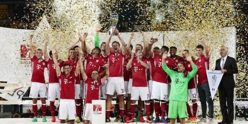 (VIDEO) Alemania, el Bayern Múnich derrotó al Dortmund en la Supercopa