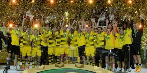 (VIDEO) Alemania, el Dortmund es el nuevo campeón de la DFB Pokal!