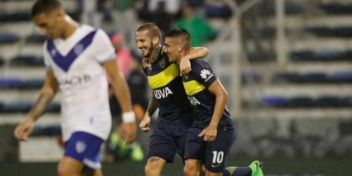 (VIDEO) Argentina, Boca derrotó a Vélez y sigue liderando cómodamente el torneo