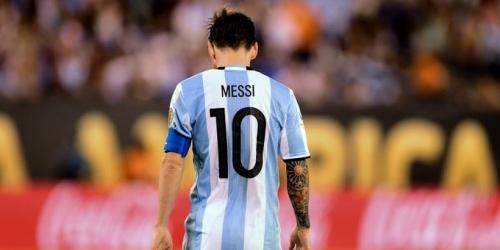 (VIDEO) Argentina, Messi anunció su retiro de la selección