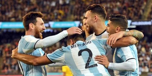 (VIDEO) Argentina se llevó el 'superclásico' amistoso frente a Brasil