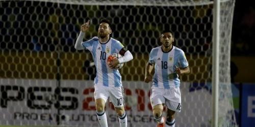 (VIDEO) Argentina vence a Ecuador y clasifica al Mundial de Rusia 2018