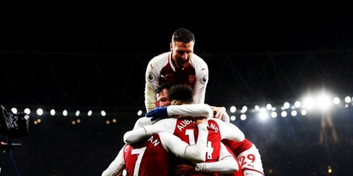(VIDEO) Arsenal goleó 5-1 al Everton