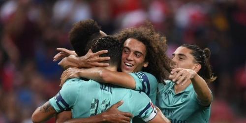 (VIDEO) Arsenal se lleva por encima al PSG en la International Cup