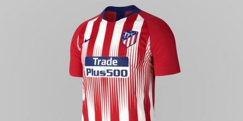 (VIDEO) Atlético de Madrid con nueva camiseta para la siguiente temporada