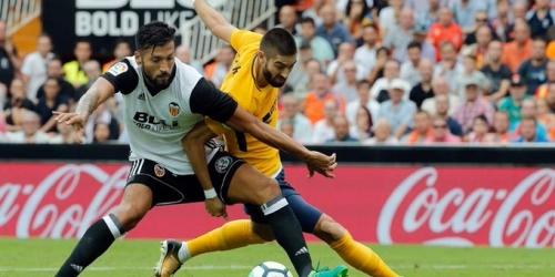 (VIDEO) Atlético de Madrid iguala con el Valencia en Mestalla