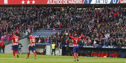 (VIDEO) Atlético de Madrid se hace con la victoria ante Las Palmas