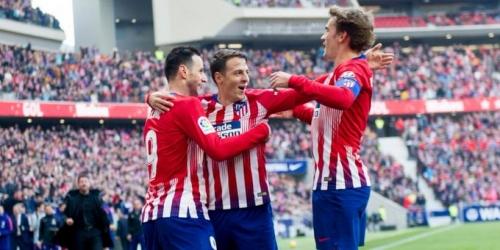 (VIDEO) Atlético Madrid derrota al Getafe y espera resultado del Barcelona