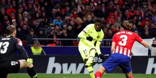 (VIDEO) Atlético y Barcelona empatan y conservan los primeros lugares en LaLiga