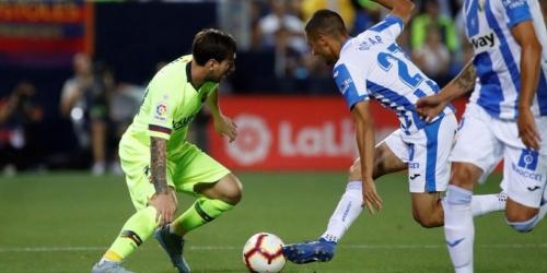 (VIDEO) Barcelona cae de visita 2 a 1 con el Leganés