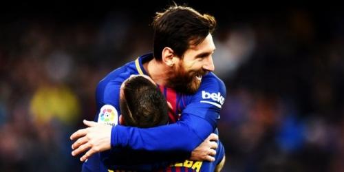 (VIDEO) Barcelona goleó al Celta de Vigo por Copa del Rey