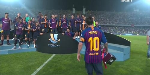 (VIDEO) Barcelona inicia la temporada con la Supercopa Española