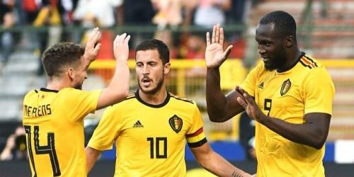 (VIDEO) Bélgica goleó a Costa Rica en su último amistoso previo al Mundial