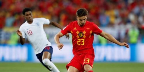 (VIDEO) Bélgica se apodera del primer lugar al ganar por 1 a 0 a Inglaterra