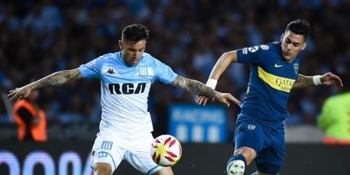 (VIDEO) Boca rescató un empate ante Racing por la Superliga argentina