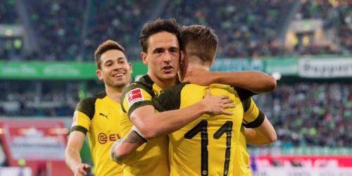 (VIDEO) Borussia Dortmund gana al Wolfsburgo y mantiene la punta
